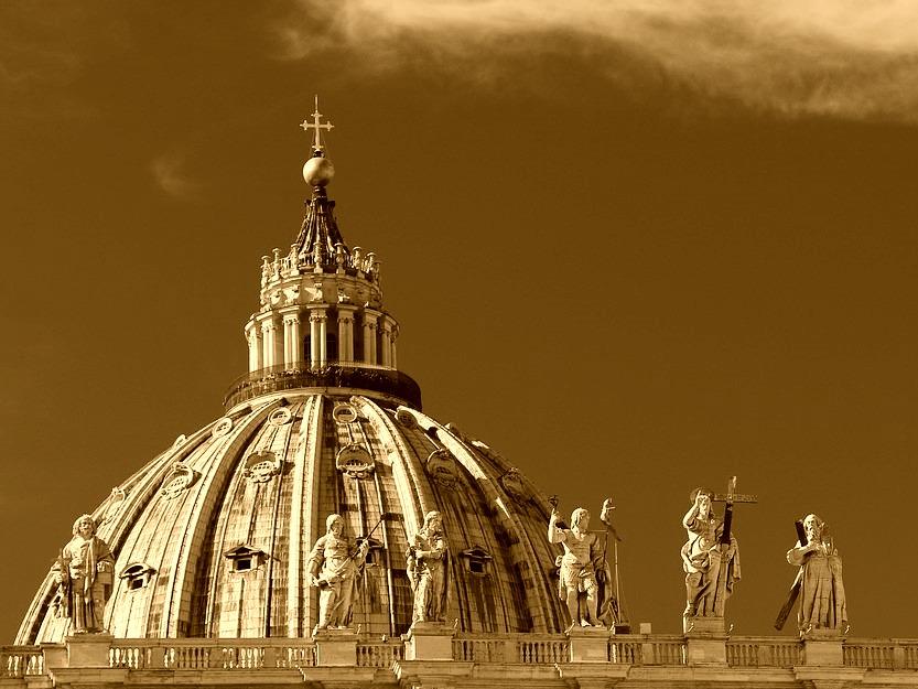 Kopuła Bazyliki św. Piotra w Rzymie