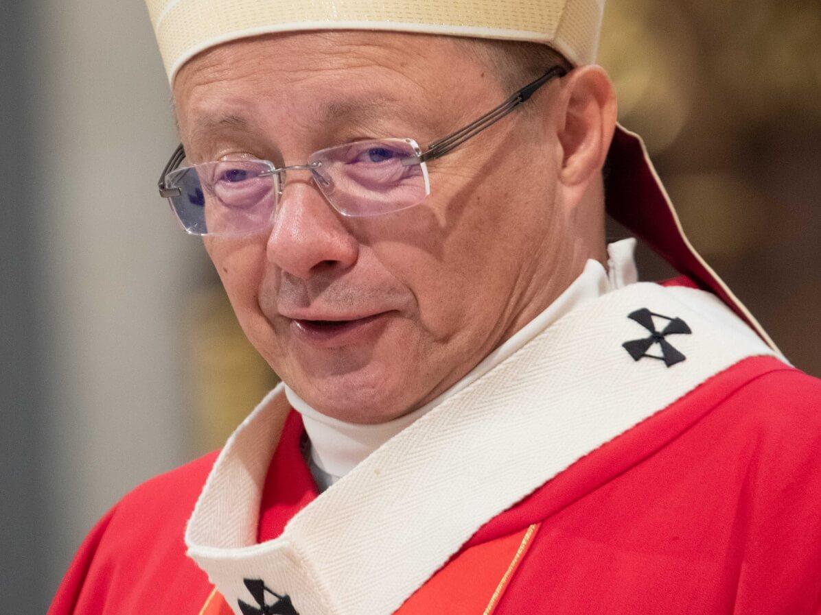 Abp Grzegorz Ryś w Niedzielę Palmową, 14 kwietnia 2019 r. w Łodzi