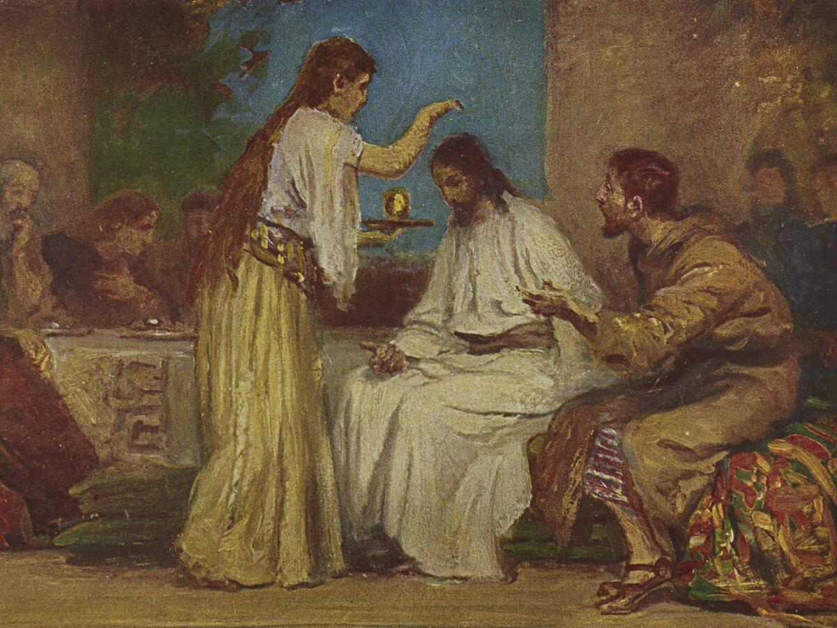 Namaszczenie w Betanii