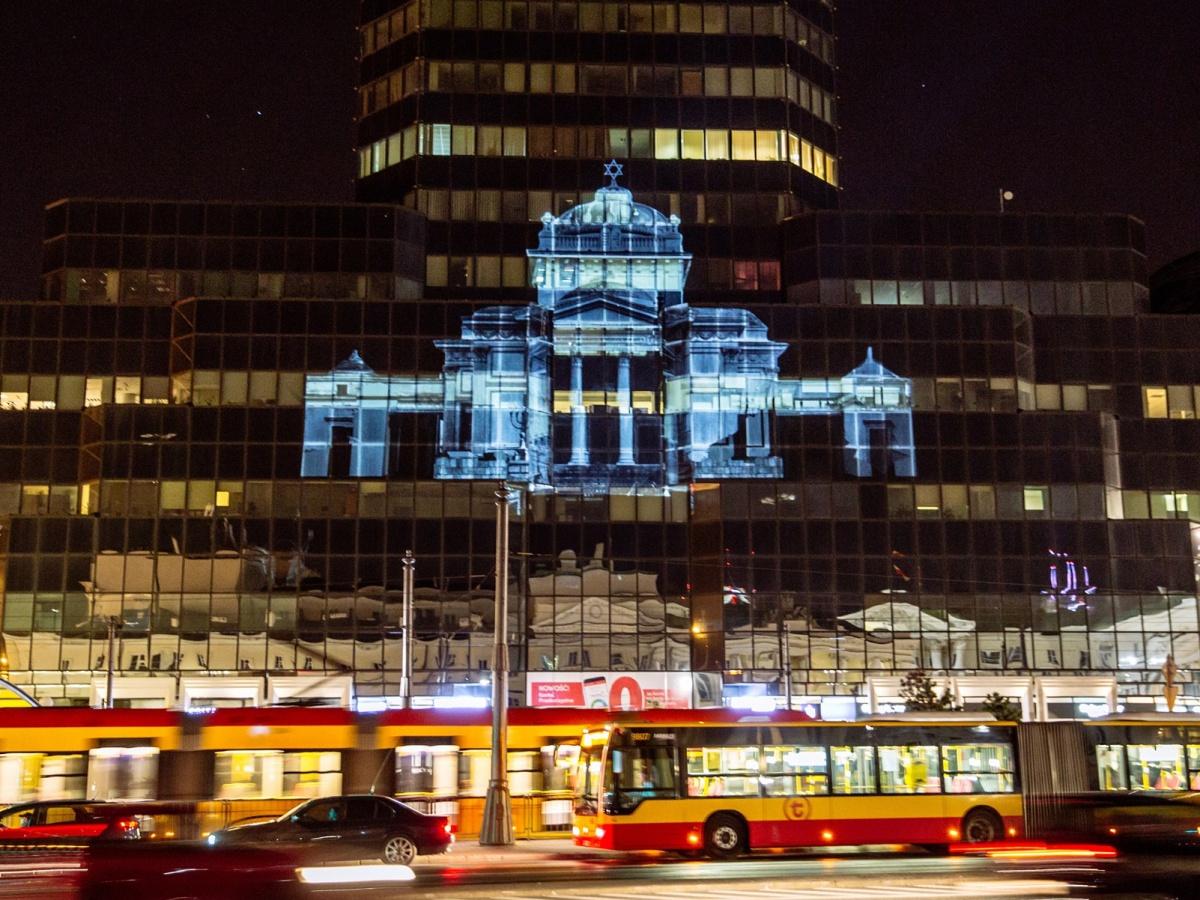 Wielka Synagoga wirtualnie powróci na plac Bankowy