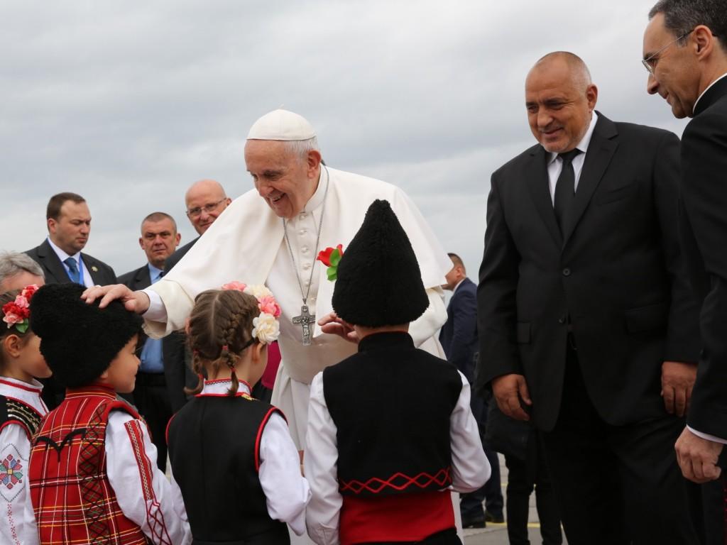 Franciszek w Bułgarii