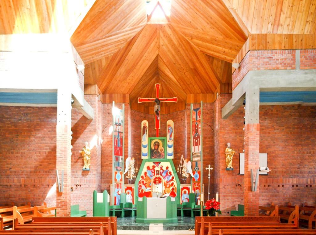 Kościół pod wezwaniem Jezusa Chrystusa Odkupiciela w Czechowicach‑Dziedzicach. Fot. Jakub Turbasa