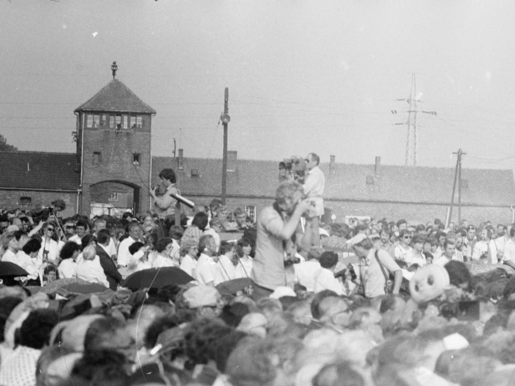 Fotoreporterzy w Auschwitz