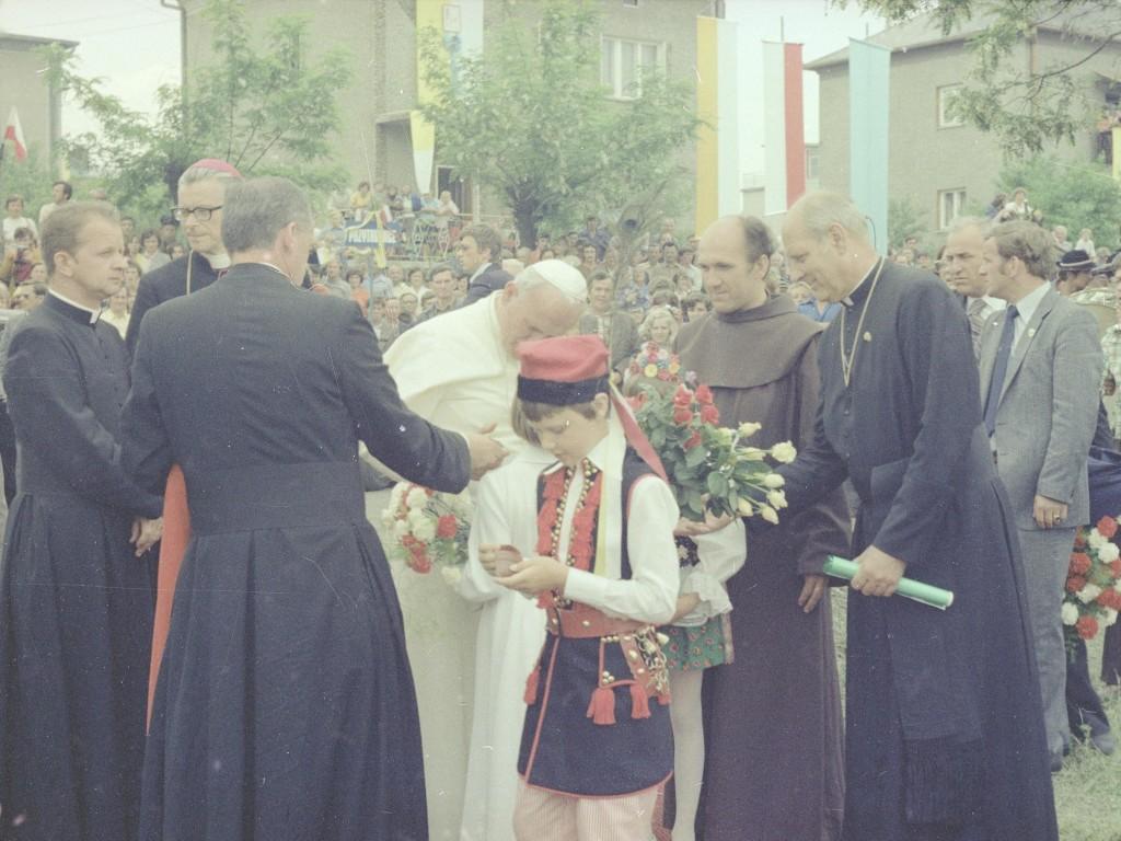 Jan Paweł II w Kalwarii Zebrzydowskiej