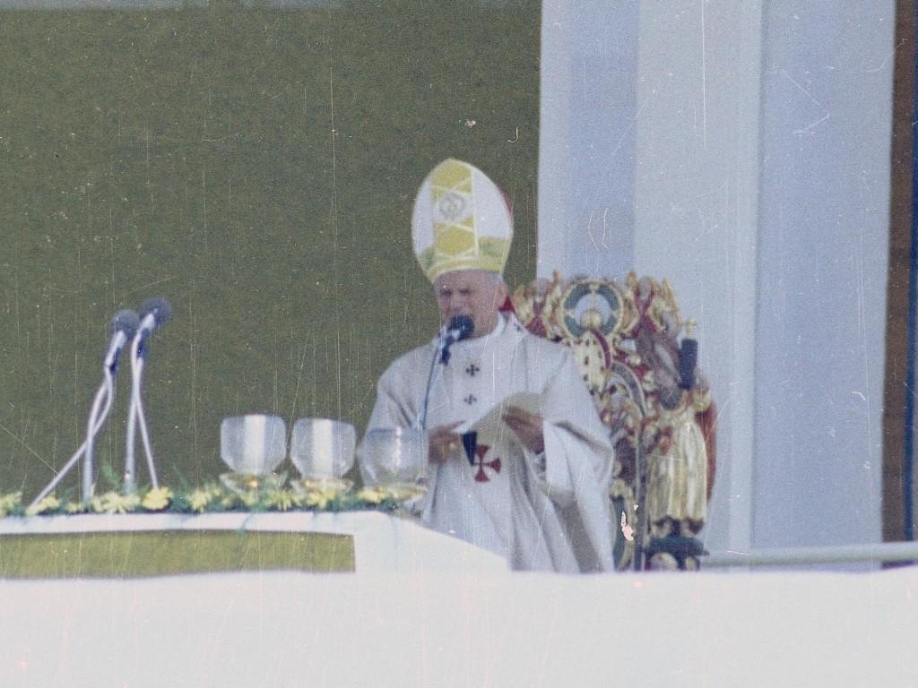 Jan Paweł II w Krakowie
