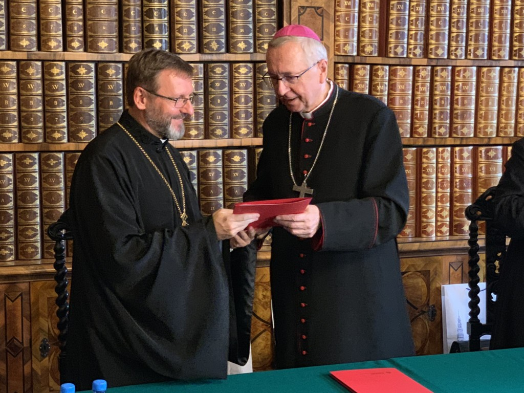 Abp Stanisław Gądecki i abp Światosław Szewczuk