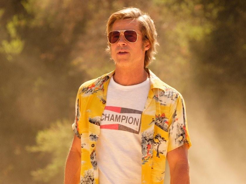 "Brad Pitt w filmie ""Pewnego razu… w Hollywood"" Quentina Tarantino"