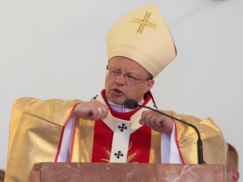 Abp Grzegorz Ryś w parafii p.w. Najświętszej Maryi Panny Królowej Polski w Ozorkowie 23 czerwca 2019 r.
