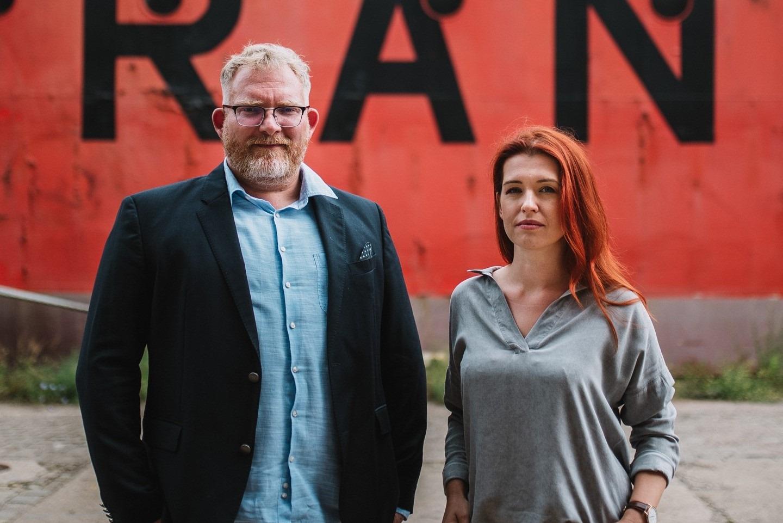 Magdalena Bigaj i Maciej Dębski z Fundacji Dbam o Mój Z@sięg