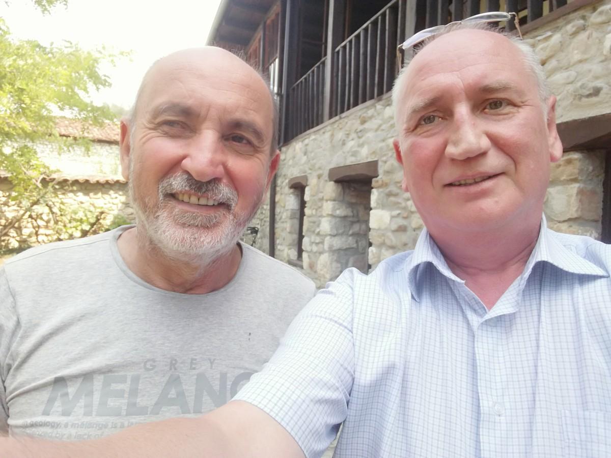 Fatos Lubonja i o. Wojciech Żmudziński
