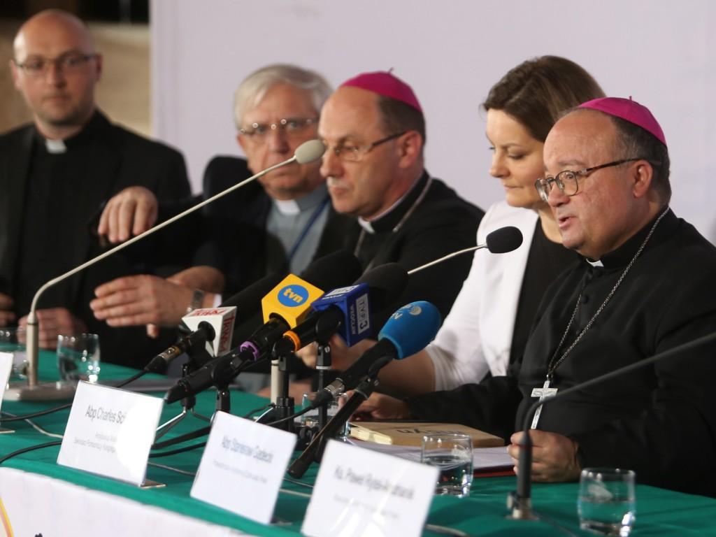 Konferencja prasowa w Wałbrzychu