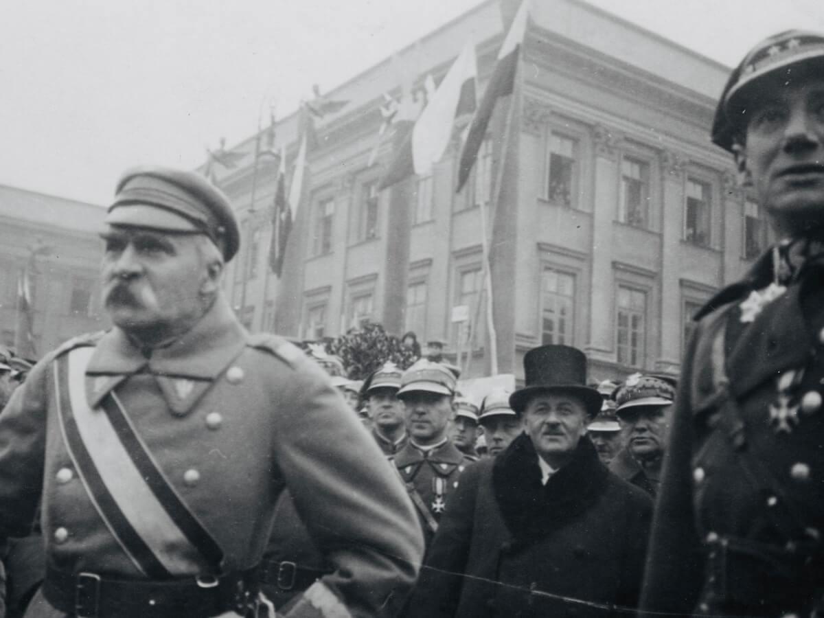 Józef Piłsudski i Józef Beck