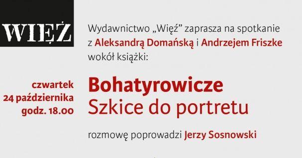 Spotkanie z Aleksandra Domańską, 24 października 2019 r.