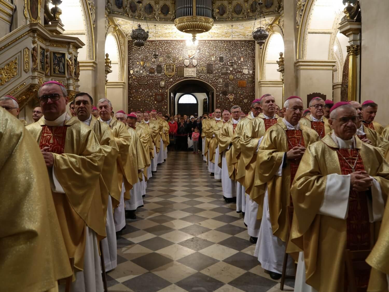 Rekolekcje biskupów na Jasnej Górze 21 listopada 2019 r.