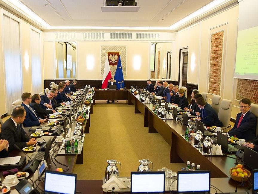 Posiedzenie Rady Ministrów. Warszawa, 21 listopada 2019 r.