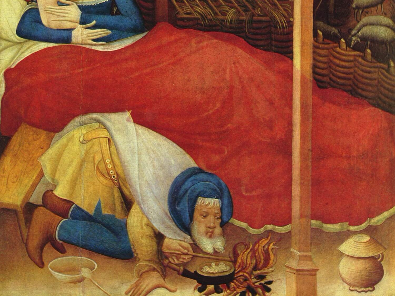 Fragment Ołtarza z Bad Wildungen Conrada von Soesta (ok. 1400 r.)