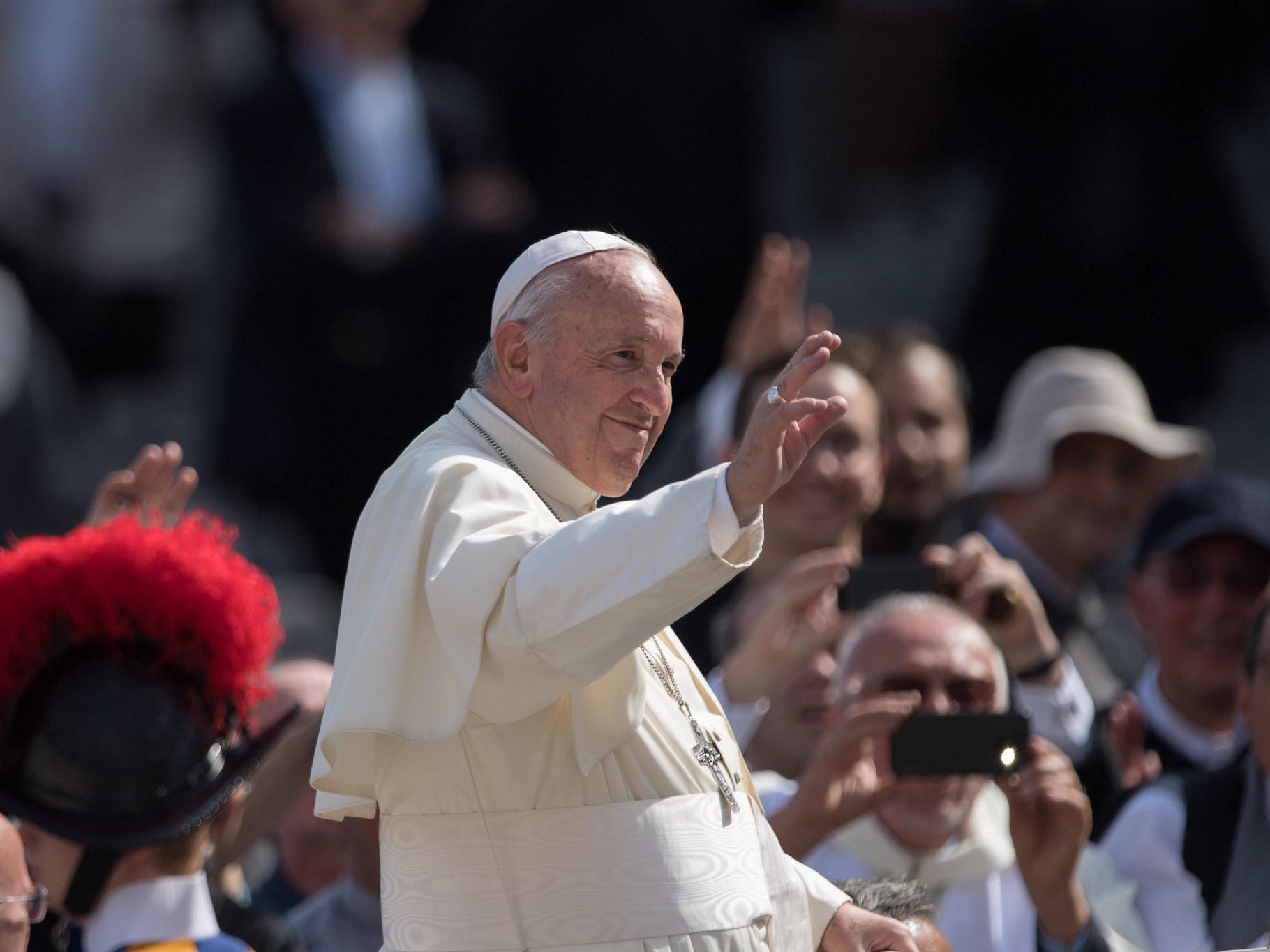 Franciszek: Chrześcijanie nie mogą być więźniami formalności