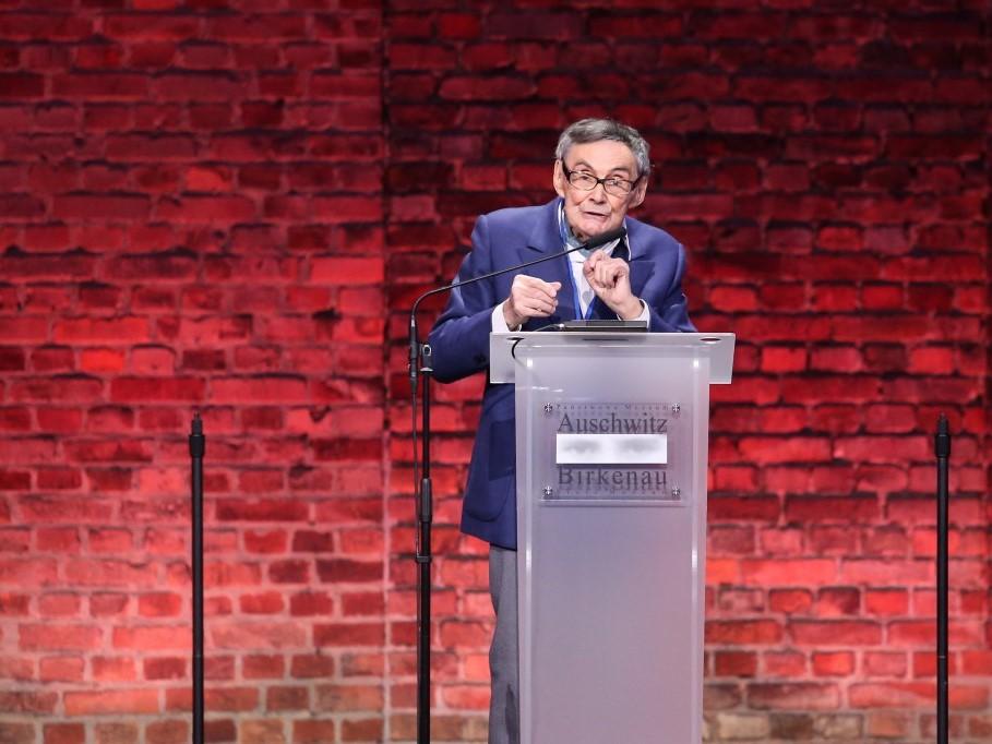 Marian Turski przypomina: Auschwitz nie spadło z nieba