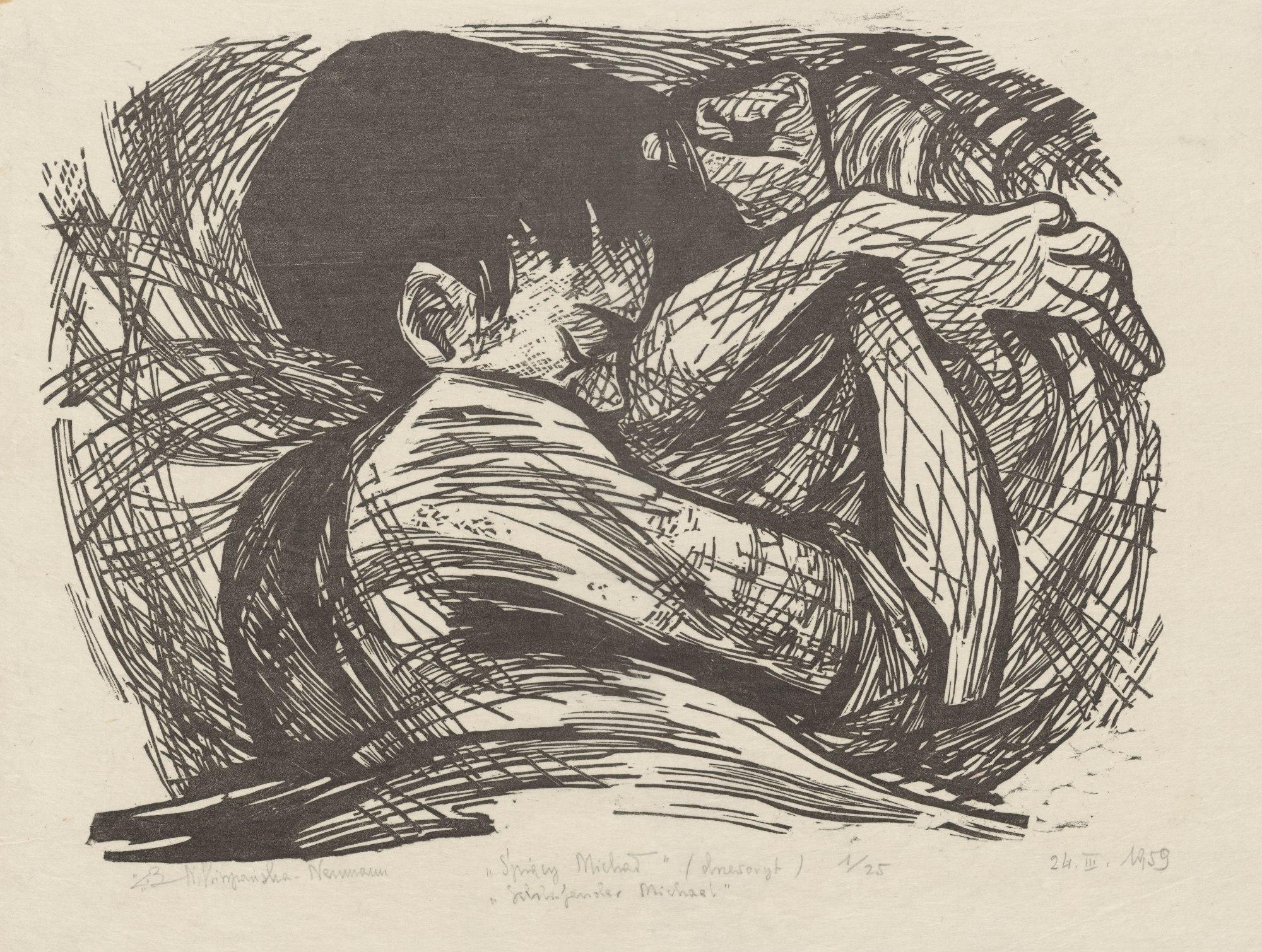 """""""Śpiący Michał"""", 1959"""