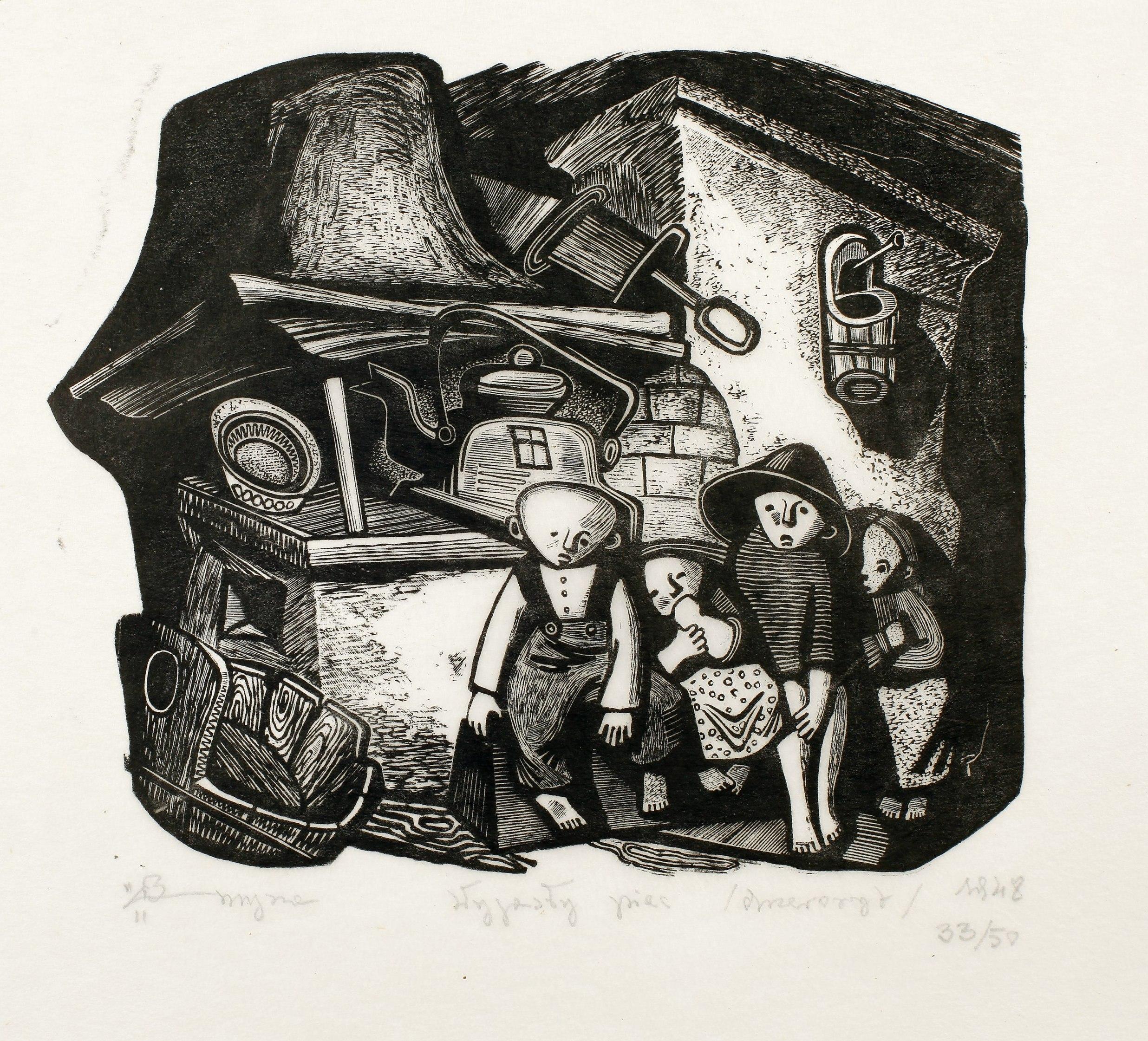 """""""Wygasły piec"""", 1948"""