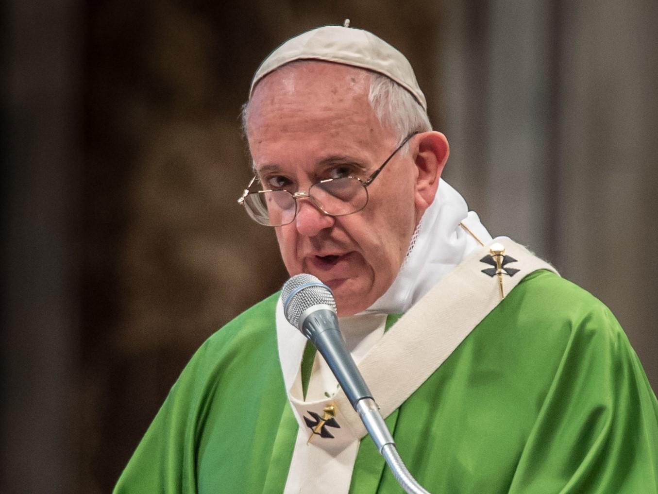 Franciszek: Judasz mieszka w każdym z nas
