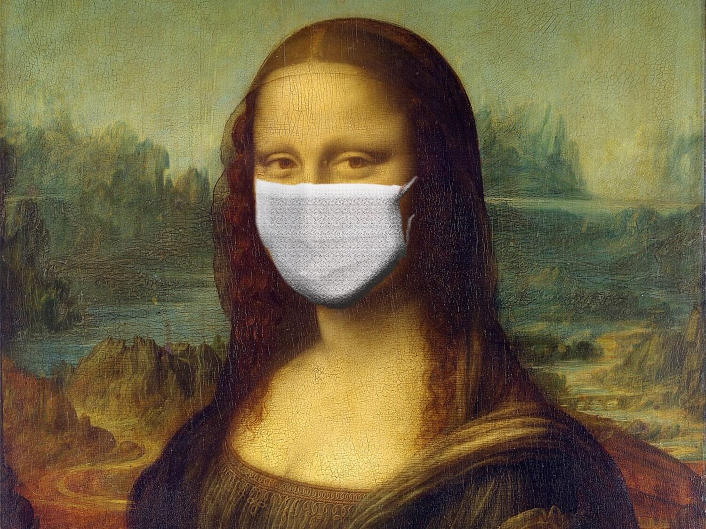 Mona Lisa w masce