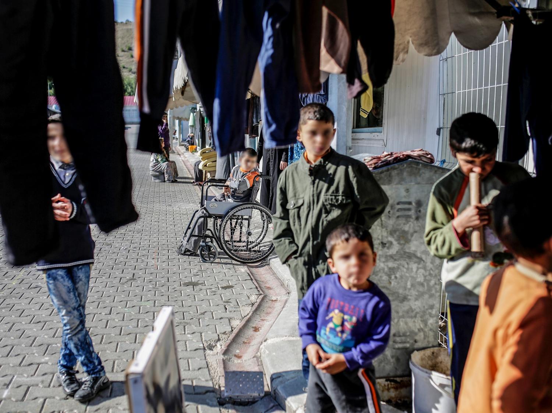 Na zdjęciu: obóz dla uchodźców w Turcji, 10 lutego 2016 r.