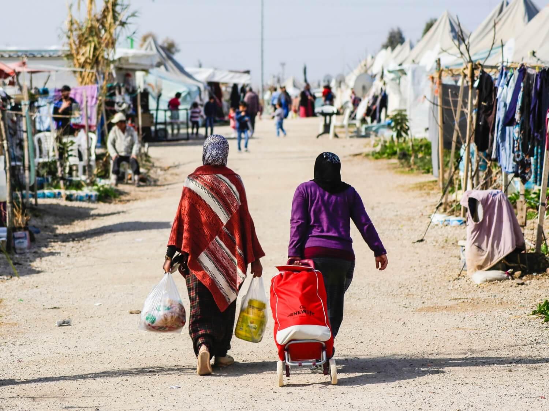 Obóz dla uchodźców w Turcji, 10 lutego 2016 r.