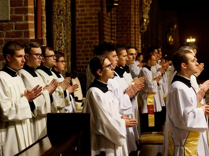 Klerycy podczas II Ogólnopolskiego Forum Ceremoniarzy 2020