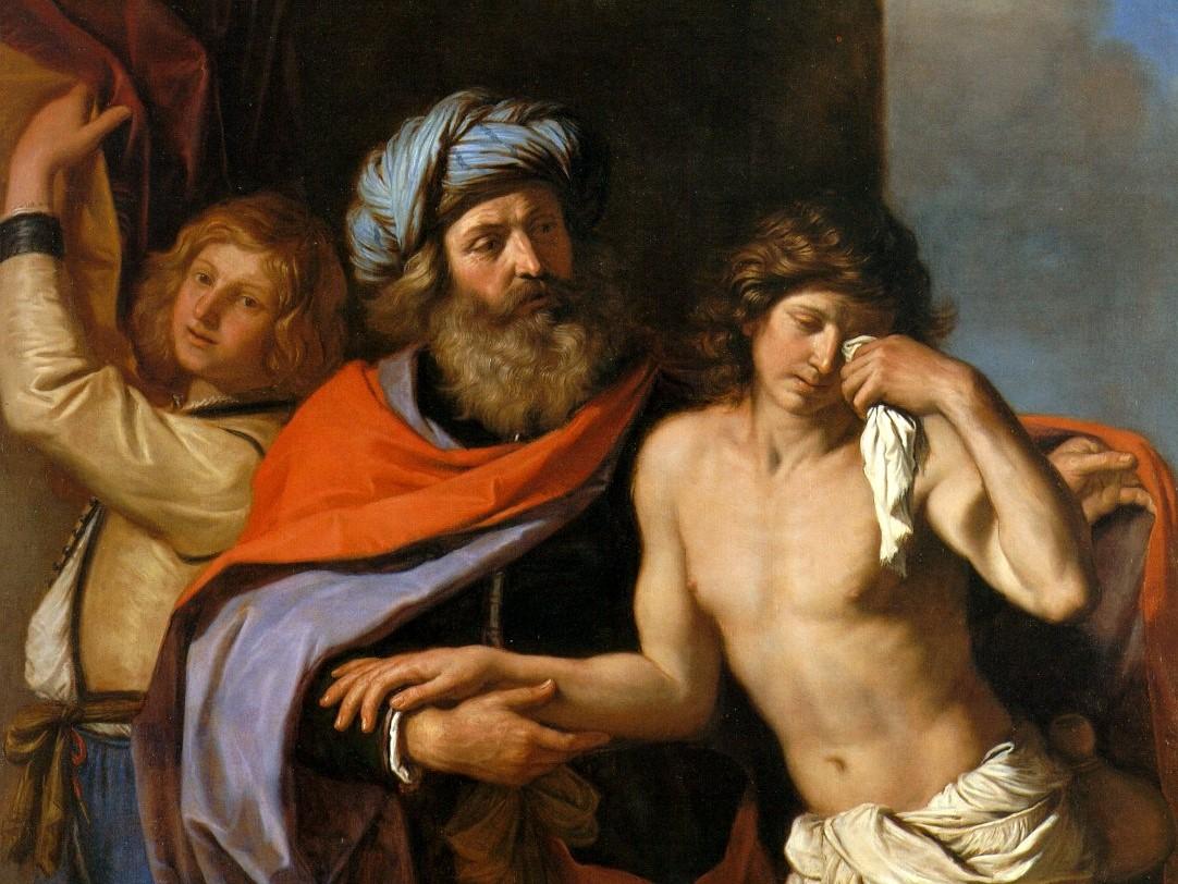 """Guercino, """"Powrót syna marnotrawnego"""", 1654-55"""