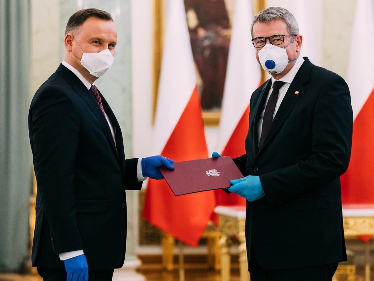 Powołanie Wojciecha Murdzka na stanowisko Ministra Nauki i Szkolnictwa Wyższego 16 kwietnia 2020 r.