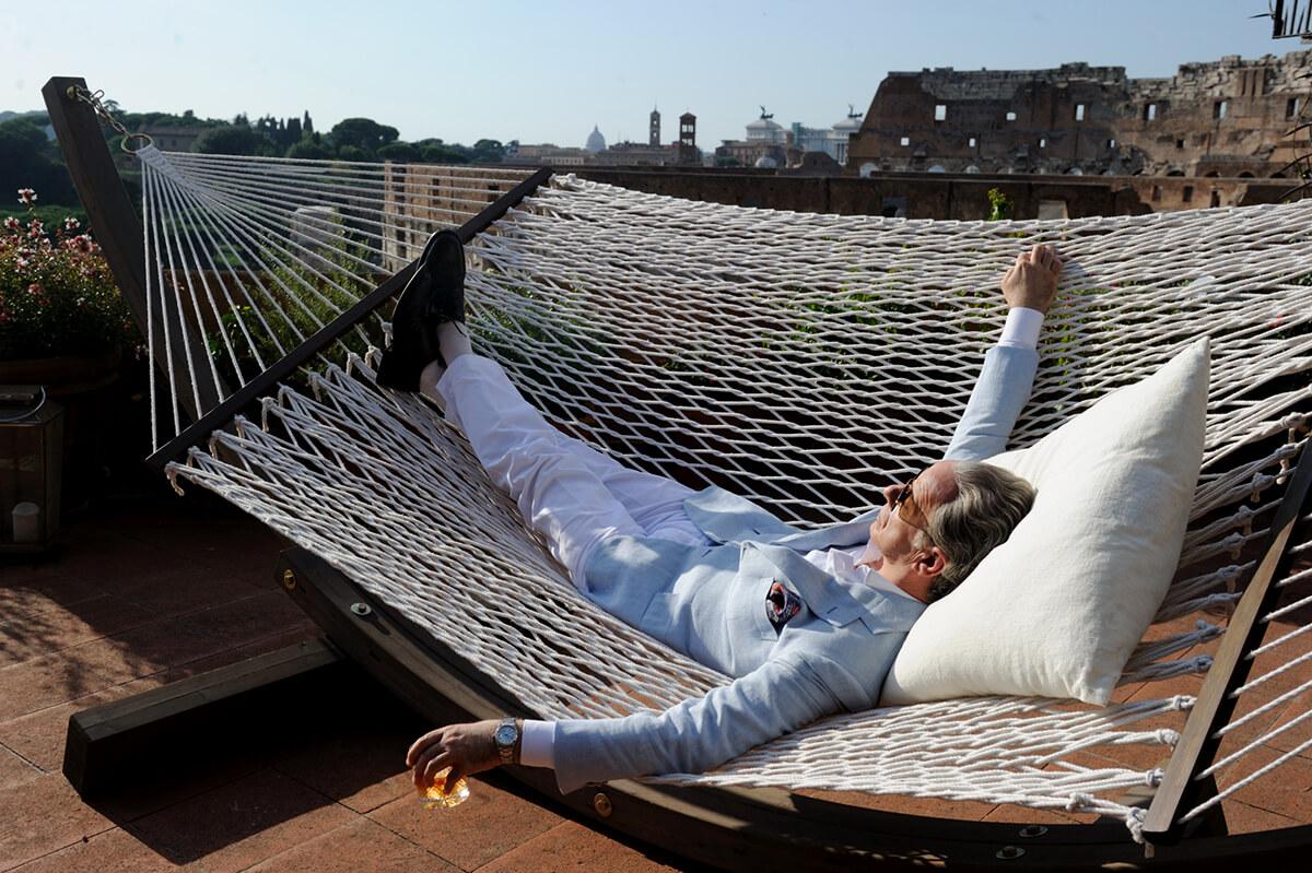 "Toni Servillo w filmie ""Wielkie piękno"""