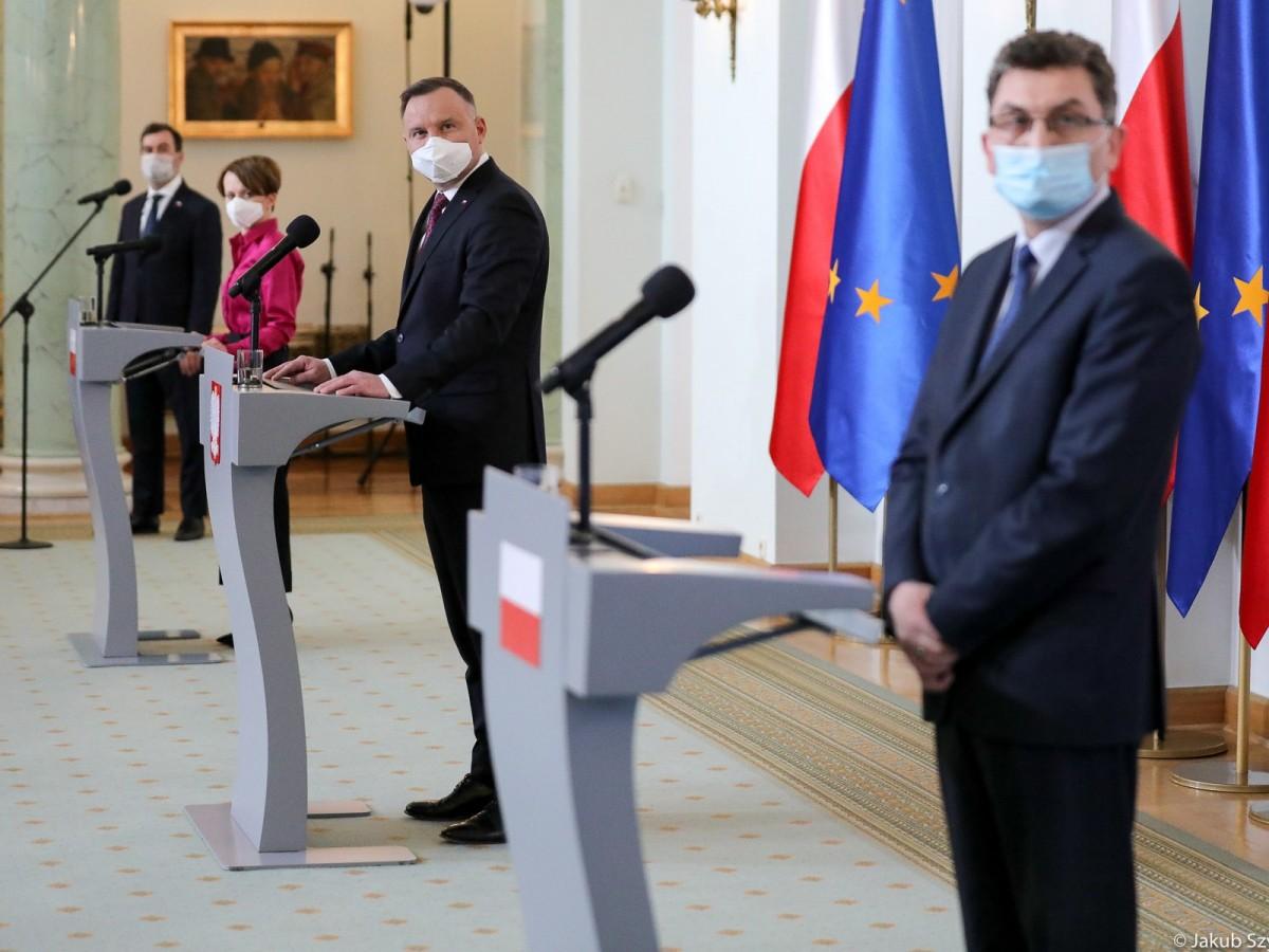 Briefing prasowy prezydenta