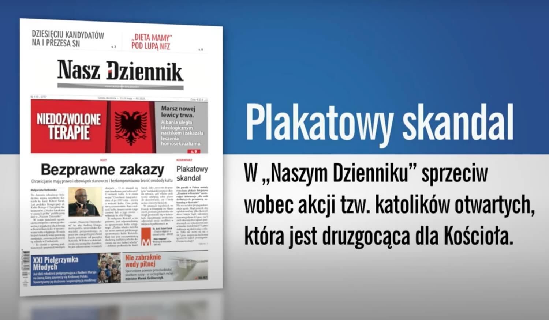 """Redakcyjna zapowiedź """"Naszego Dziennika"""" z 23 maja 2020 r."""