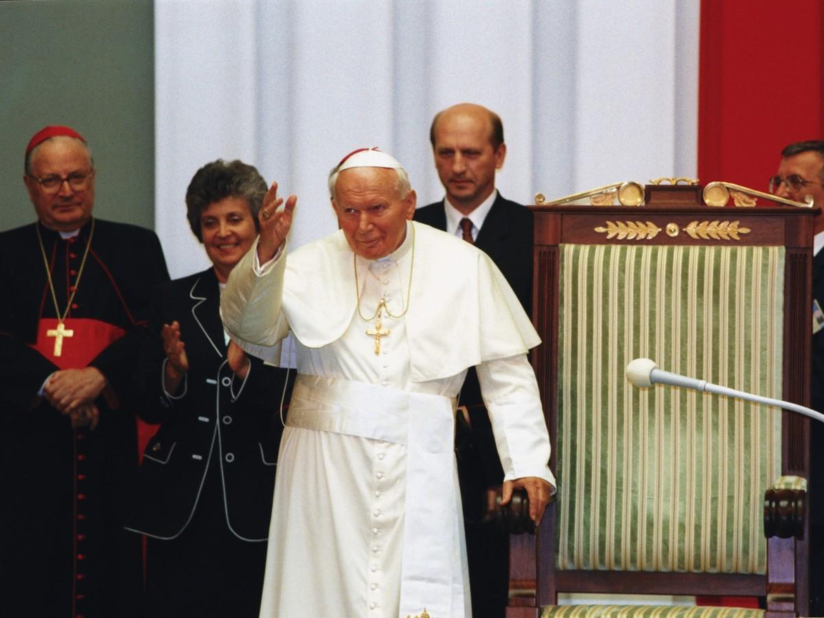 Wizyta papieża Jana Pawła II w Sejmie RP 11 czerwca 1999 roku