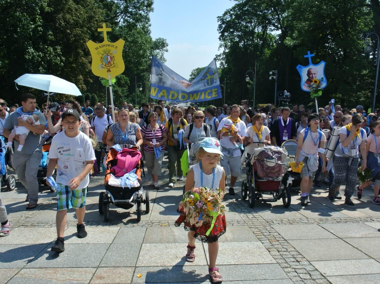 Pielgrzymka z Wadowic na Jasna Górę 19 lipca 2017 r.