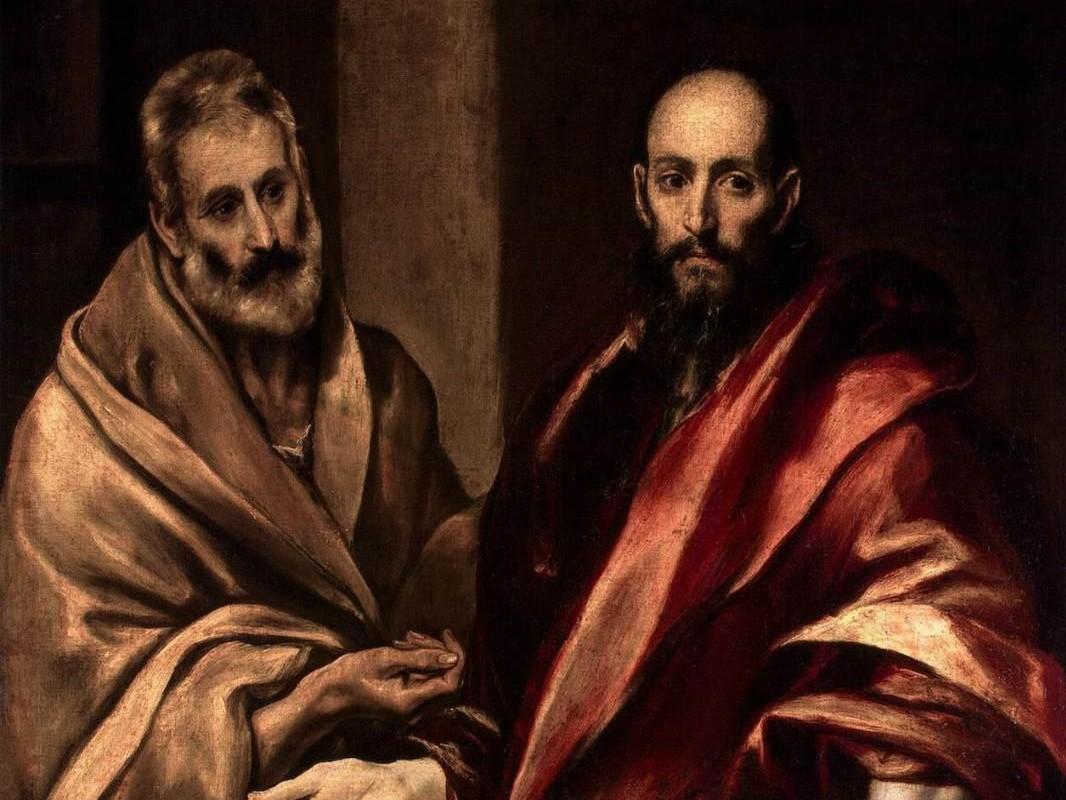 """El Greco, """"Święci Piotr i Paweł"""", 1592"""