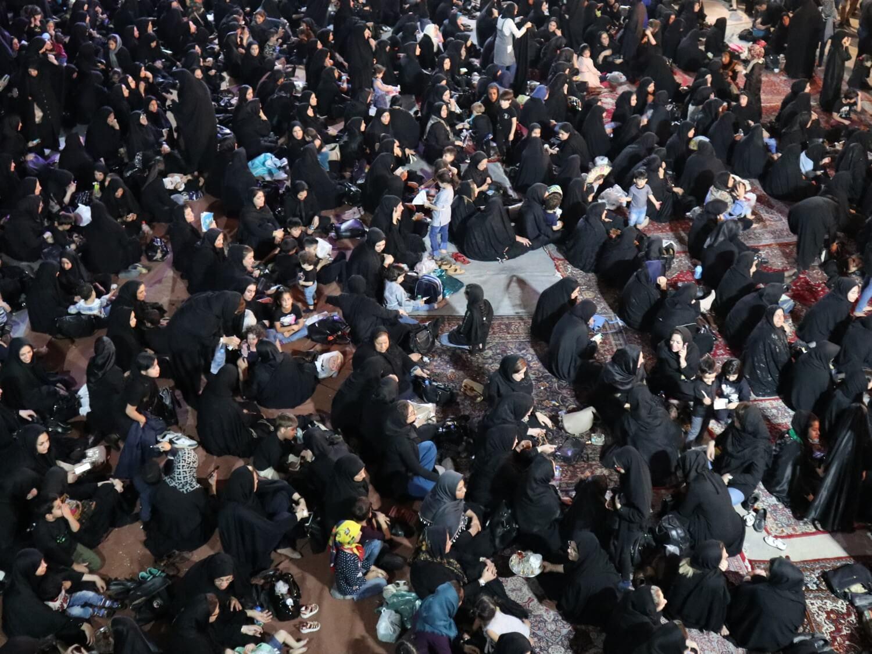Irańskie kobiety podczas Aszuwy