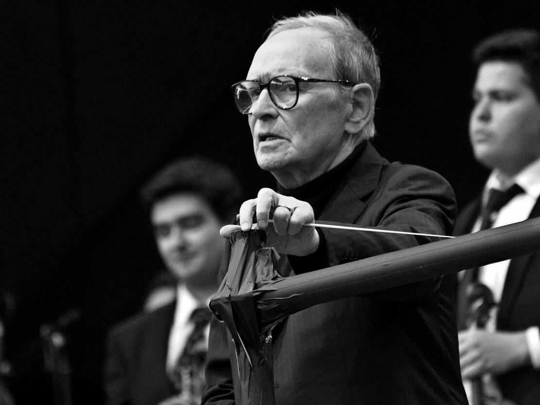Ennio Morricone w 2013 roku