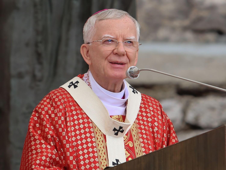 Abp Marek Jędraszewski podczas uroczystości ku czci św. Stanisława, 2019