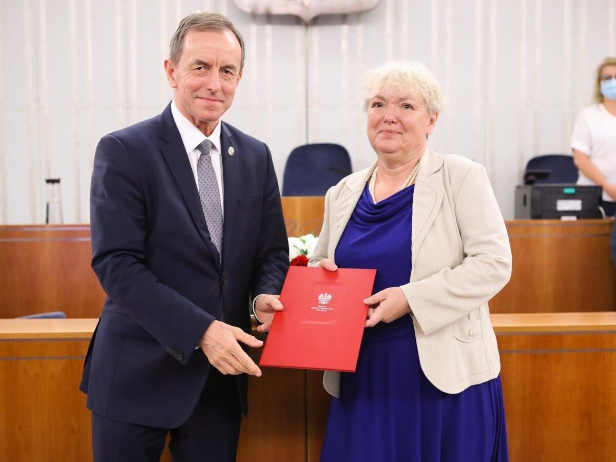 Senat powołał Agnieszkę Rękas na członkinię komisji ds. zwalczania pedofilii