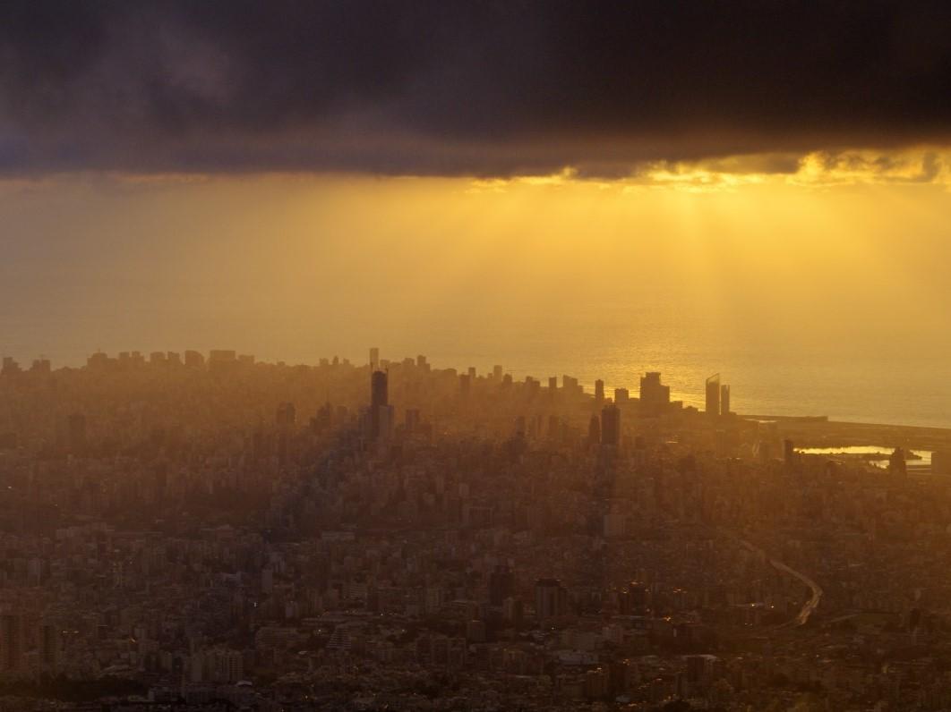 Centrum Bejrutu do złudzenia przypomina dziś Aleppo
