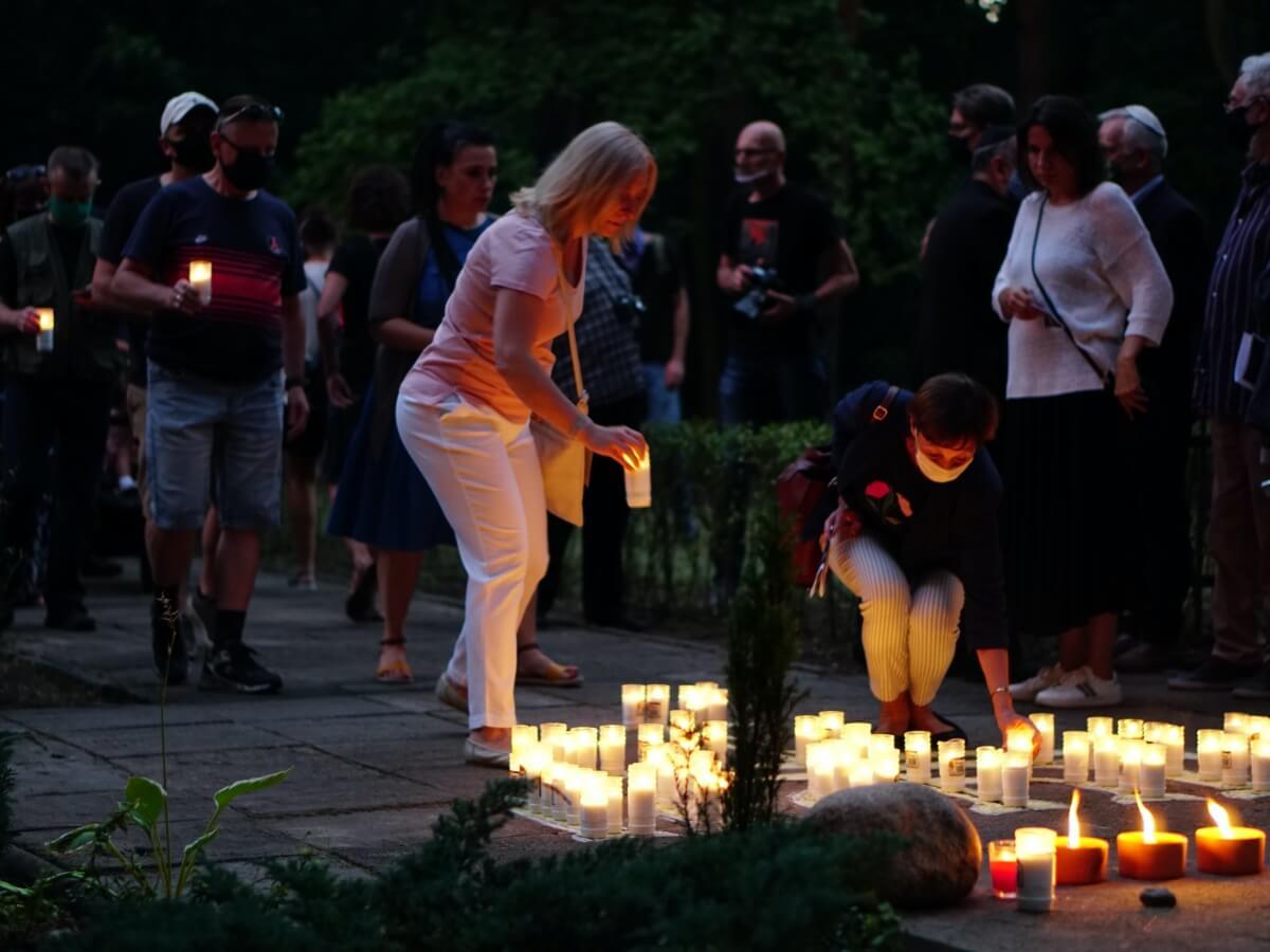 Marsz Pamięci i Modlitwy w 78. rocznicę zagłady gett w Otwocku, Falenicy i Rembertowie
