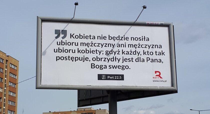 Billboardy kampanii Roty Marszu Niepodległości