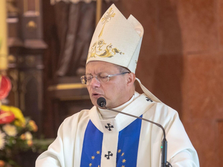Abp Ryś do księży w Kaliszu: Chcę wam służyć tak, jak umiem