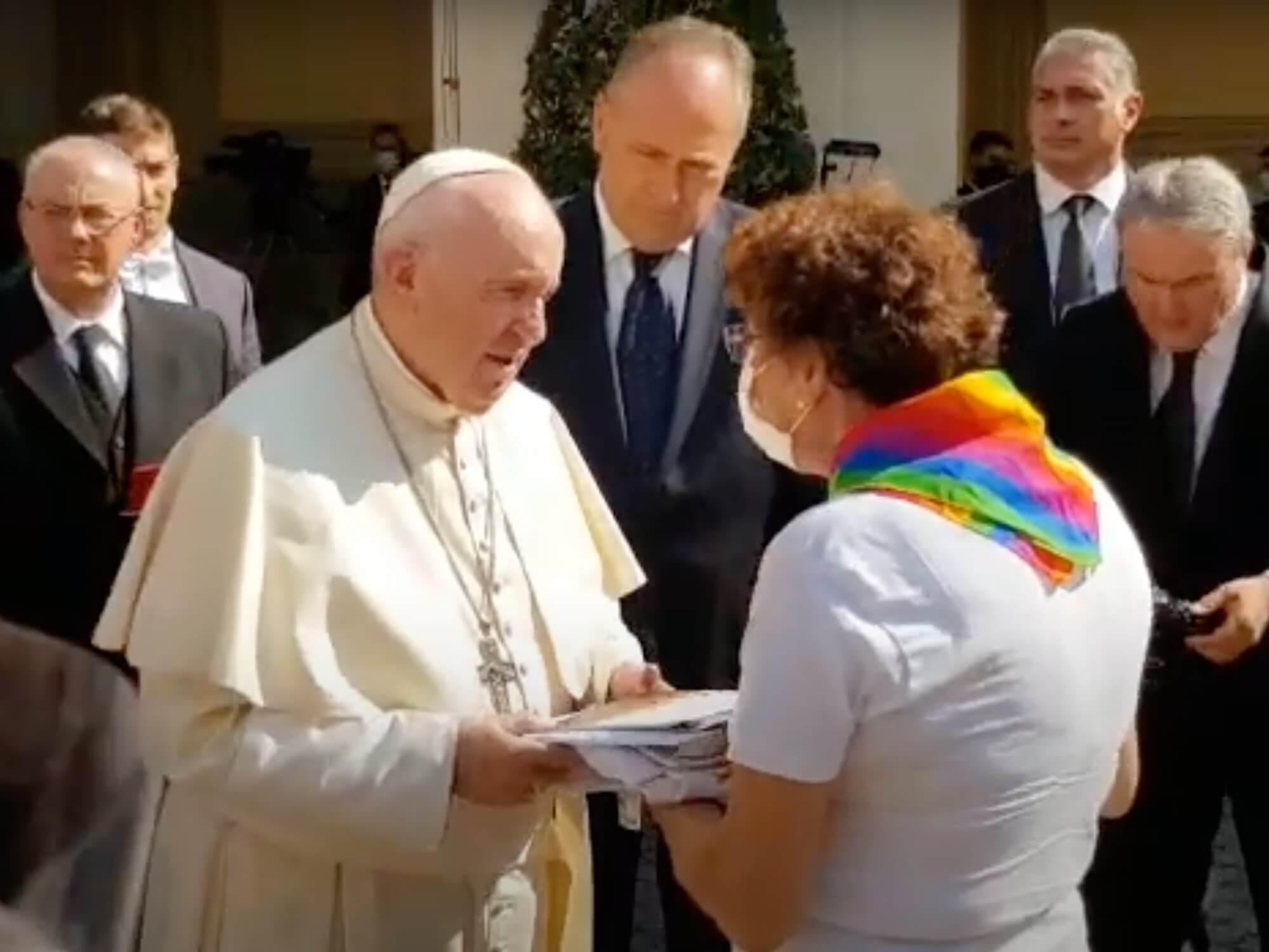 Papież Franciszek spotkał się z rodzicami osób LGBT