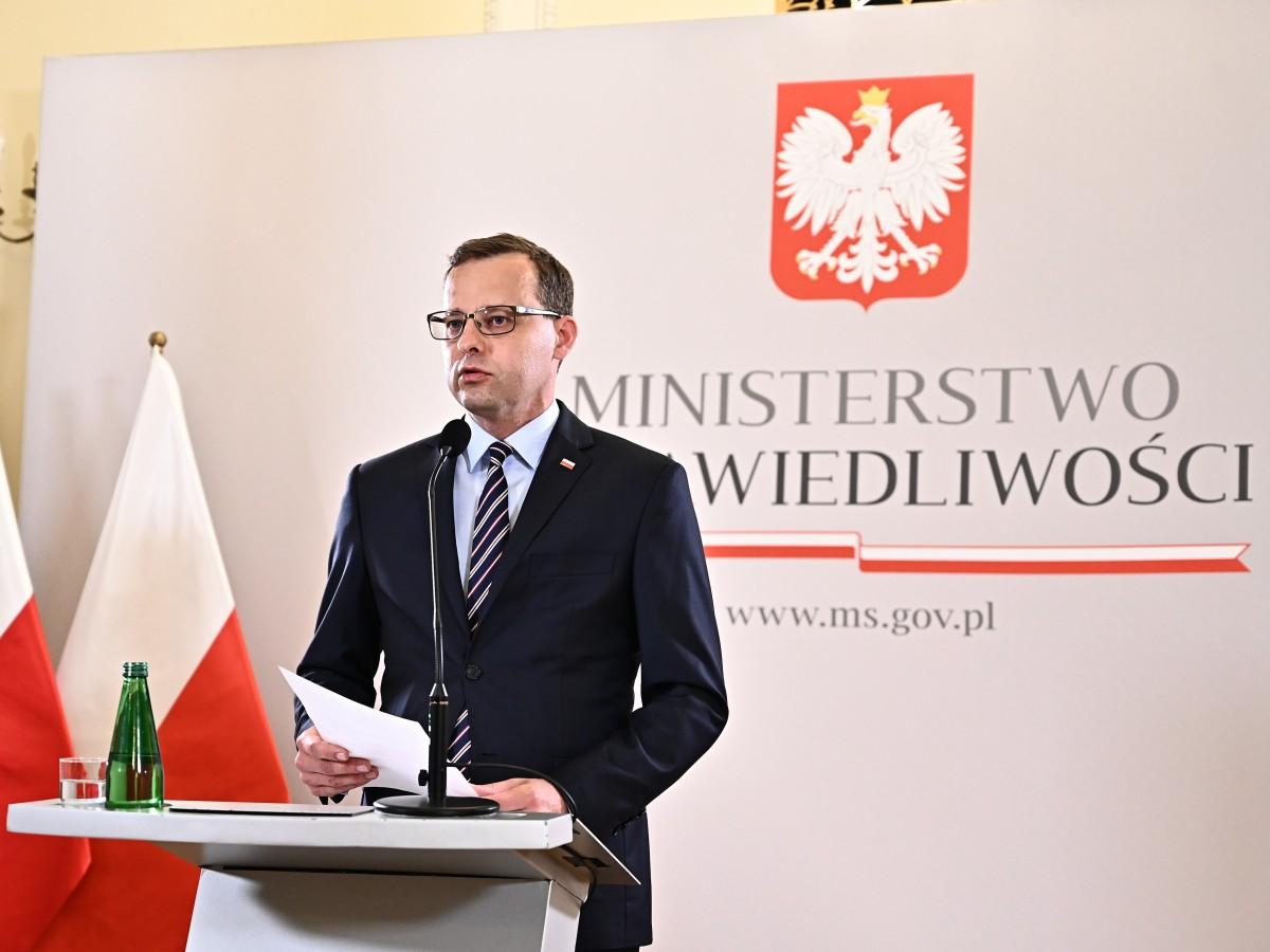 Wiceminister sprawiedliwości Marcin Romanowski