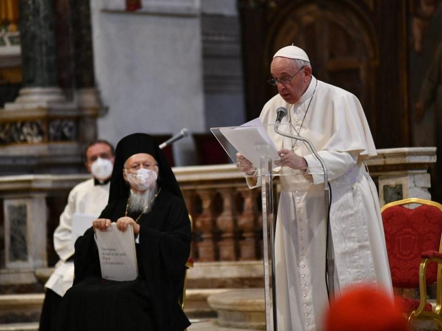 Patriarcha Bartłomiej: Dla chrześcijan braćmi nie są tylko członkowie Kościoła, ale wszyscy ludzie