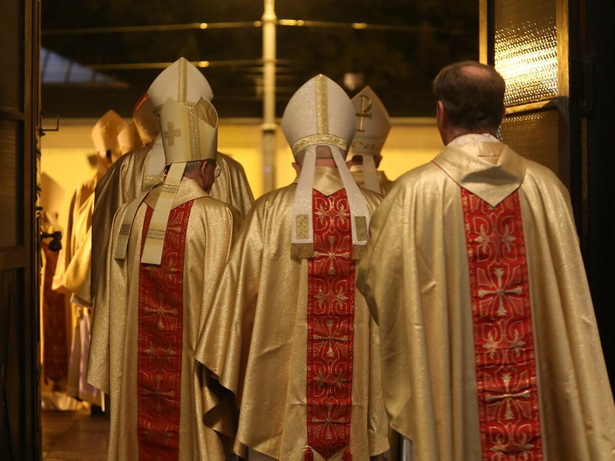 Msza w katedrze w Łodzi