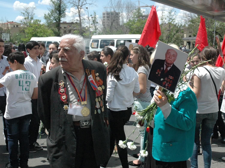 Obchody Dnia Zwycięstwa w Armenii. 9 maja 2016
